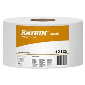 Tualetes papīrs KATRIN Basic Gigant S,  145m,  1 slānis
