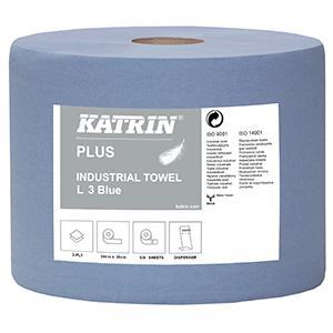 Industriālais papīrs Plus L2 Blue 350m,  2 slāņi,  Katrin