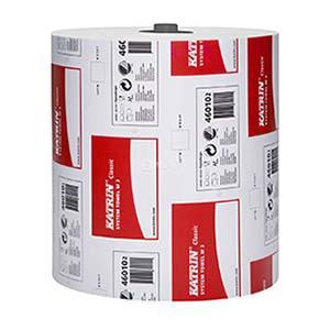 Dvielis Katrin Classic System Towel M2, 2-slāņu, 160m balts