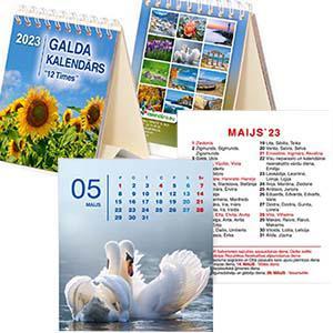*Galda kalendārs  12 TIMES