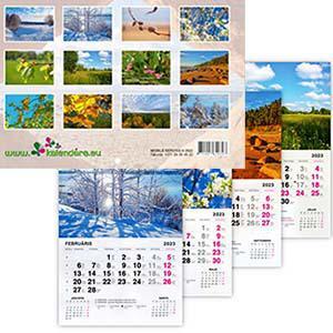 *Sienas kalendārs Gadalaiki 2020g.