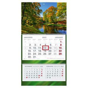 Sienas kalendārs SHORT Plus 2020g.
