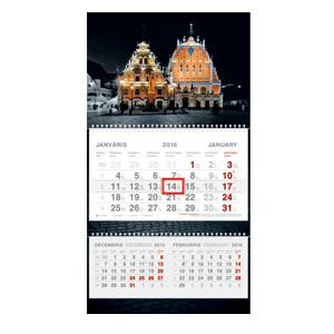 *Sienas kalendārs SHORT PLUS