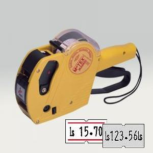 Marķēšanas pistole MOTEX 5500MX vienrindu 21.5x12 EUR,  Ls