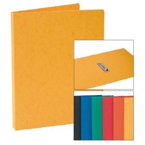 Mape kartona ar piespiedēju Multi-S A4 oranža krāsa