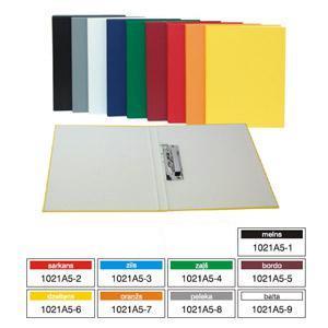 Mape A5 ar piespiedēju,  kartona/PVC Multi-S,  dažādas krāsas