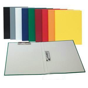 Mape A4 ar 2 piespiedējiem,  pelēka krāsa