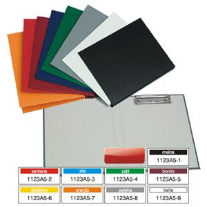 Planšete ar vāku Multi-S A5 formāts,  dažādas krāsas