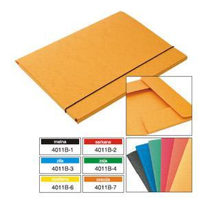 Mape A4/10mm kartona ar gumiju,  Multi-S,  dažādas krāsas