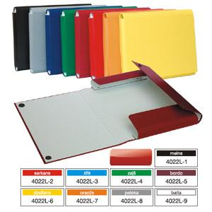 Mape Multi-S A4 ar līmpogu,  dažādas krāsas