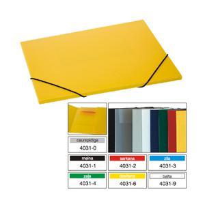 Mape Multi-S A4/10mm ar gumiju,  dažādas krāsas