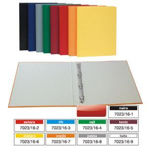 Mape Multi-S,  A4 ar 4 gredzeniem (D=16mm),  dažādas krāsas