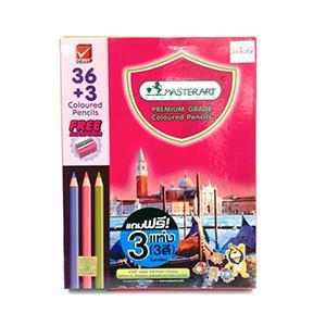 Zīmuļi krāsainie 36+3 krāsas MASTERART