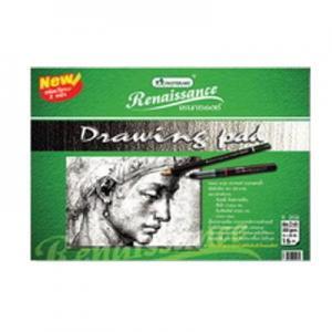 Zīmēšanas albums R202 275x375mm 15lap 200g Renaissance