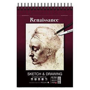 Albums Sketch&Drawing R702 A5 60lap 90gr Renaissance