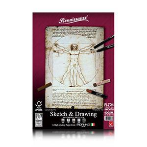 Albums Sketch&Drawing R704 A5 60lap 90g Renaissance