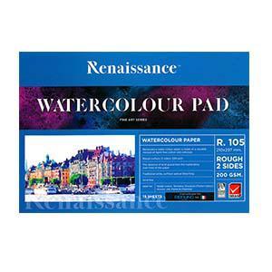 Akvareļu albums A4 R105 15 lapas,  200g/m2 Renaissance