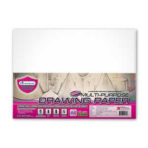 Zīmešanas papīrs A4/20 lapas DP101,  135g/m2 MASTERART