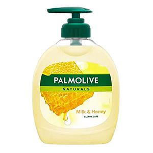 Šķidrās ziepes PALMOLIVE Milk & Honey 300ml