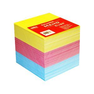 Piezīmju papīrs (maiņa) krāsains,  85x85mm,  800 loksnes