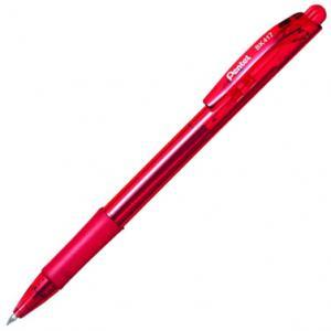 Pildspalva lodīšu PENTEL BK-417 sarkana