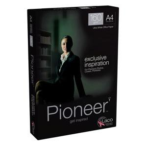Papīrs PIONEER A4 160g/m2,  250 loksnes