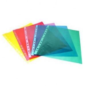 Kabatas A4 PP matētas zilas,  50 gab. iepakojumā