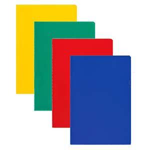 Папка-уголок A4/160мик 10 штук глянцевая синяя