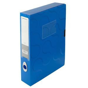 Arhīva kārba A4/55mm Omega,  Panta Plast,  zila