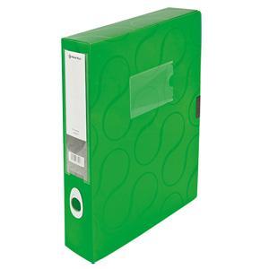 Kārba dokumentiem A4/55mm Omega,  Panta Plast,  zaļa