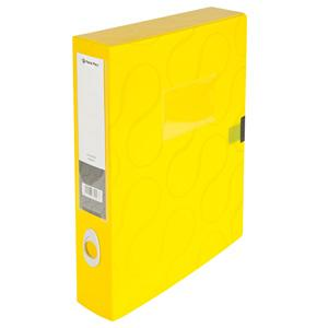 Kārba dokumentiem A4/55mm Omega,  Panta Plast,  dzeltena