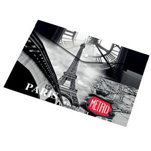 Mape ar pogu A4 PARIS,  Panta Plast