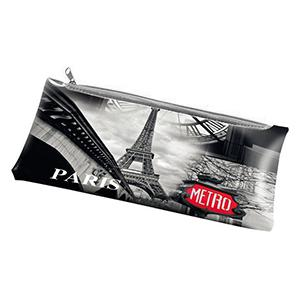 Penālis-kosmētikas maciņš PARIS (12x24cm)