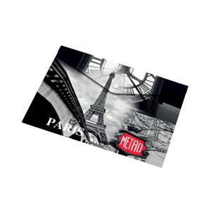 Mape ar pogu A5 Paris,  Panta Plast
