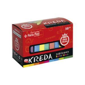 Krītiņi krāsainie 50 gab. 5 krāsas Panta-Plast