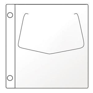 Kabatiņas CD/DVD ar perforāciju 10 gabali