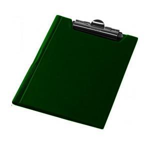 Planšete A5 Focus ar vāku,  tumši zaļa krāsa