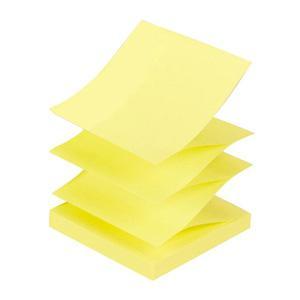 Līmlapiņas Z-veida,  75x75mm,  dzeltenas