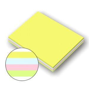 Līmlapiņas 51x76mm,  100lapiņas,  asorti krāsas