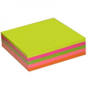 Līmlapiņas 76x76mm,  200 lapas ,  5 neon krāsas