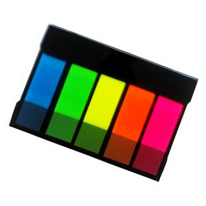 Indeksi 12x48mm,  20 lapiņas,  5 krāsas