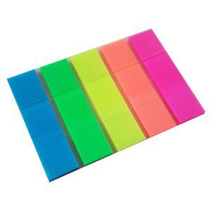 *Indeksi 12x48mm,  20 lapiņas,  5 krāsas Z-veida