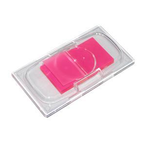 Indeksi 25x48mm 50 lapiņas,  rozā