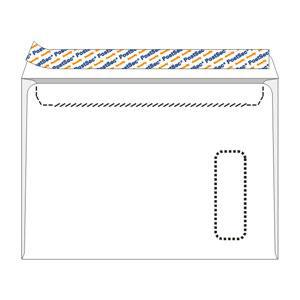 Конверты POSTSEC E4/10 штук с перфорацией 220x312мм (с окном)