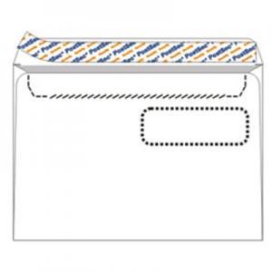 Aploksnes Postsec E5 156x220 ar logu un perforāciju