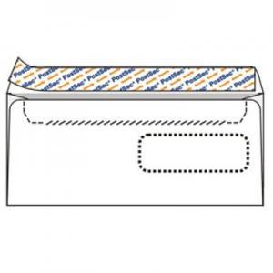 Aploksnes Postsec E65 110x220 ar logu un perforāciju