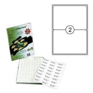 Uzlīmes Rillprint 199.1x143.5mm 100 loksnes A4 formāta