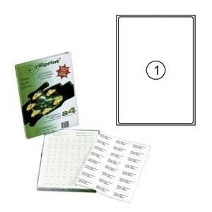 Uzlīmes Rillprint 199.6x289.1mm 100 loksnes A4 formāta