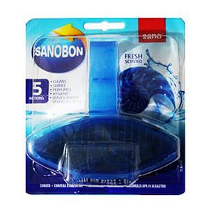 SANO Sanobon Blue 5in1 55g tīrīšanas bloks tualetes podam