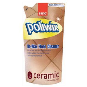 SANO Poliwix Ceramic Refill 1L keramisko grīdu tīr.līdzeklis